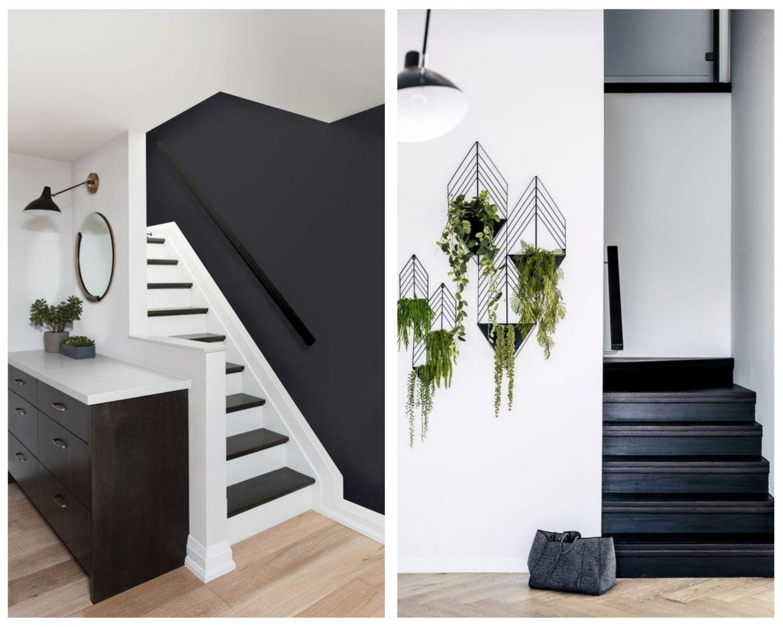 escalier noir