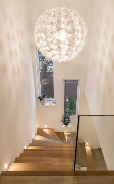 l'éclariage d'un escalier