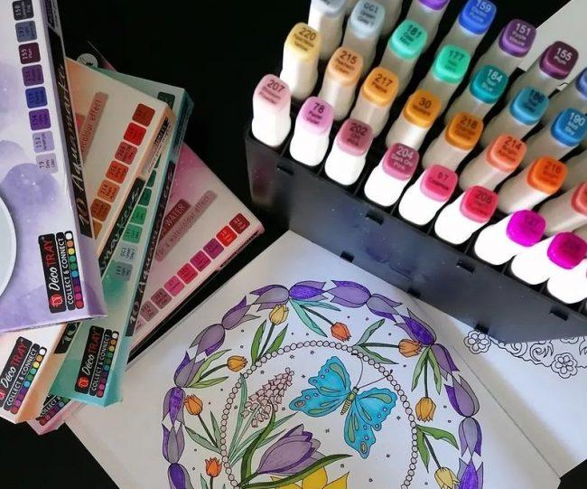 Coloriage anti-stress, bien choisir ses couleurs